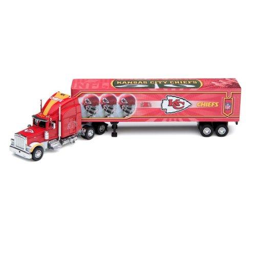 2006 Nfl Tractor Trailer (Kansas City Chiefs 2006 NFL Peterbilt Tractor-Trailer)