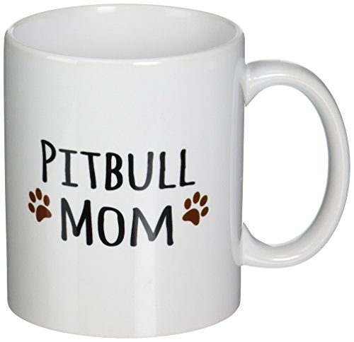 3dRose mug 154172 1 Breed Muddy Prints Doggy Lover Proud