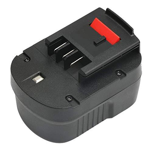 VANON HPB12 12V Battery for Black & Decker, 2.0Ah Ni-CD Battery for B&D A1712 FS120B FSB12 A12 A12-XJ A12EX Firestorm FS120B FS120BX ()