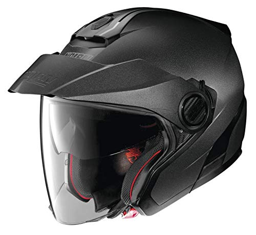 Nolan N40-5 Solid Open Face Helmet Black Graphite XXL
