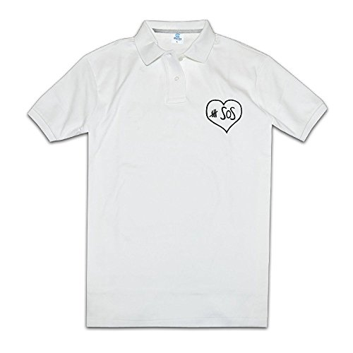 5-seconds-of-summer-cute-fan-mens-white-polo-shirts-novelty-t-shirts