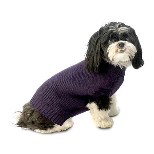 Baxters Dog Sweater Plum Small product image