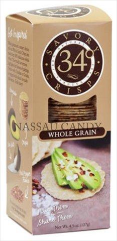 4.5 Oz. 34 Degrees Whole Grain Crispbread - Pack Of 18