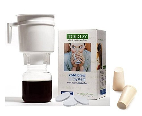 Toddy T2N Cold Brew System With 2 Extra Filters and Rubber Stopper by Toddy