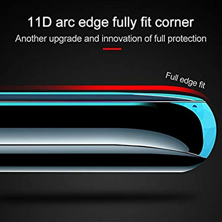 Black Realme 1 ZYS Screen Protector 25 PCS Scratchproof 11D HD Full Glue Full Curved Screen Tempered Glass Film for Oppo F5 Color : Black