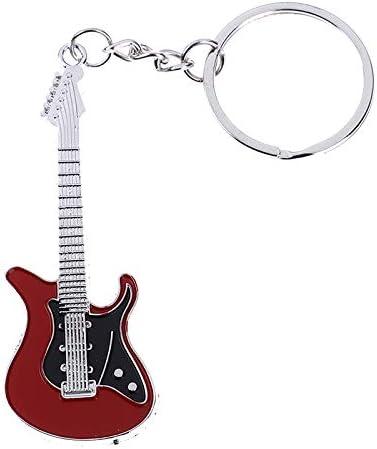 1 llavero de guitarra eléctrica clásico de metal para coche ...