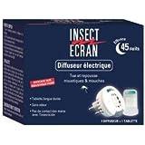 INSECT ECRAN DIFFUSEUR ELECTRIQUE AVEC RECHARGE