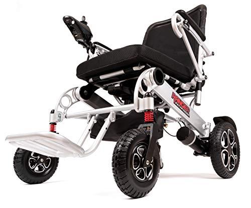 Porto Mobility Ranger X6 Portable Premium Power Wheelchair, Aerospace Aluminum Crafted Design...
