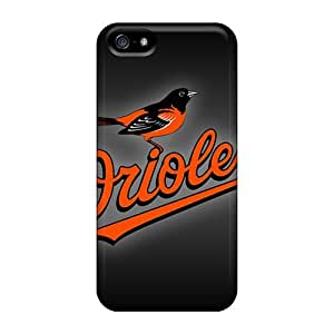 Iphone 5/5s WWN12185vNeK Allow Personal Design Stylish Baltimore Orioles Image Perfect Hard Cell-phone Cases -JasonPelletier