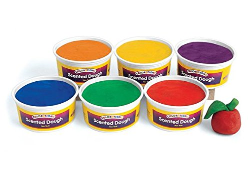 Colorations Scented Dough - 6 lbs. (Item # ORANGE) (Scented Dough)