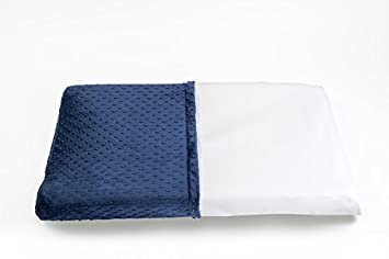 BUB Baby Wipeable Changing Table Pad Cover In Navy Blue   Waterproof, Non  Toxic,