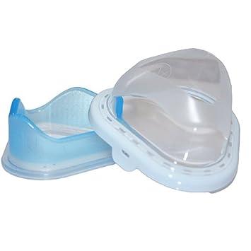 Gel Cushion and Flap for TrueBlue Gel Nasal CPAP Mask Medium Wide
