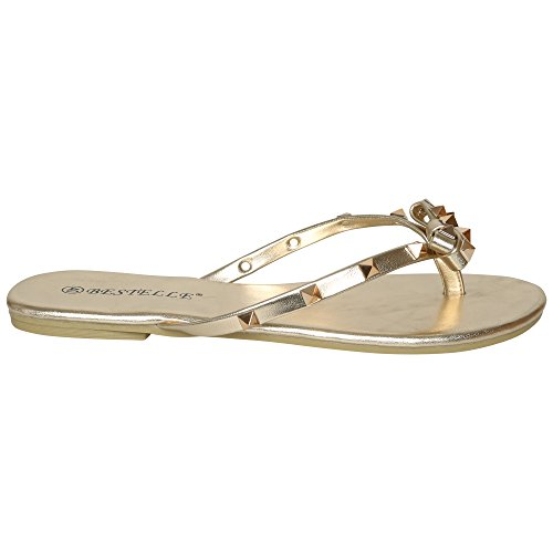 CORE COLLECTION  S-302, Damen Zehentrenner Gold