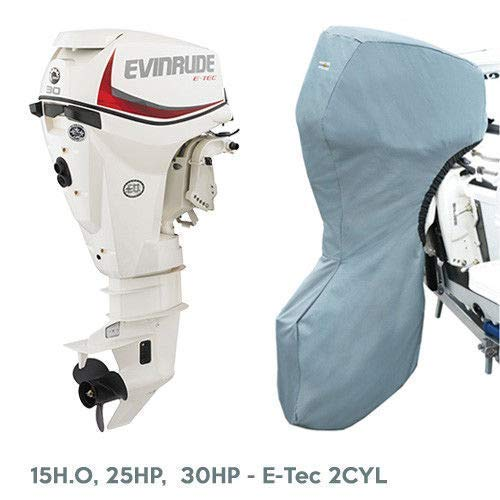 15h Storage - Oceansouth Evinrude Outboard Storage Full Cover E-Tec 2CYL 15H.O, 25HP, 30HP 20