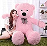 GURUDEV 3 Feet Big Teddy Bear - Pink 91 Cm
