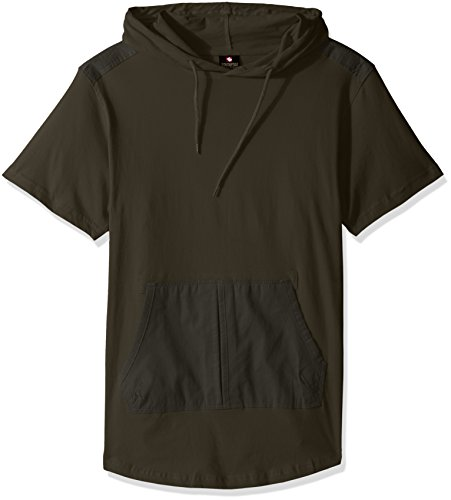 Southpole Sleeve Hooded Scallop Detail