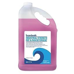 Boardwalk Industrial Strength Pot and Pan Detergent, 1 Gal (1 Bottle) - BMC- BWK7714EA