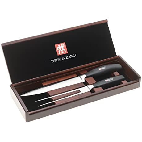 J A Henckels Twin Five Star 2 Piece Carving Set With Presentation Box