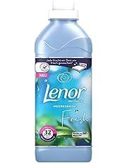 Lenor Płyn do płukania, puszyste pranie o zapachu prania, 32 prania, biały kwiat lotosu (800 ml)