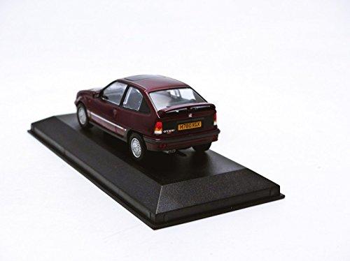 Amazon.com: Corgi Vanguards Va13205a Vauxhall Astra Gte 16v Leather Edition Bordeaux Red: Toys & Games