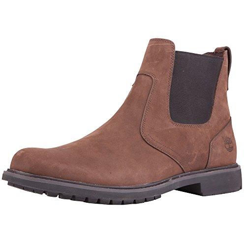 Timberland Men's Earthkeepers¿ Stormbuck Chelsea Dark Brown 9.5 D (Timberland Chelsea Boots)