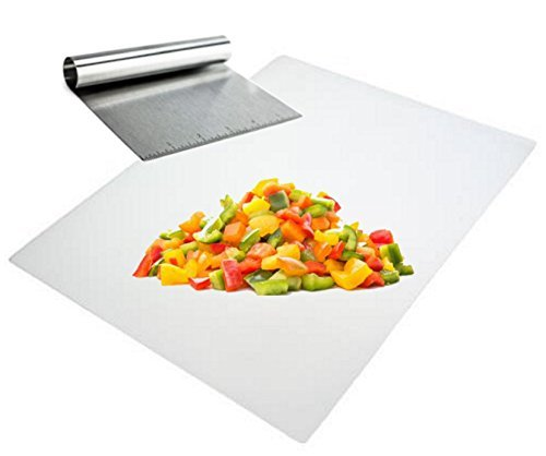 UPC 764130569478, Cooktop Scraper and Hand Food Chopper with Cutting Mat Set of 2