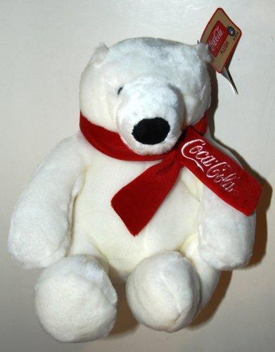 Boyds Coca-Cola Brand Coke Plush Polar Bear 9 Inches High Style #919903 Coca Cola Boyds Bears