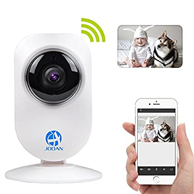 IP Camera, JOOAN 720P 960P Network IP Camera With Two Way Audio Remote Wireless Baby Monitor With Night Vision