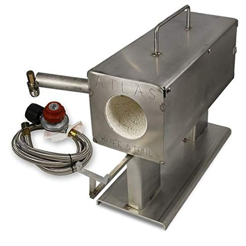 Atlas Mini Forge Stainless Knifemaker Forge with Burner