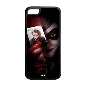 Personalized design Classic Harley Quinn with the Joker in the Card iPhone 5C Case Cover
