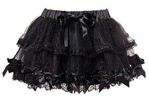 Mutli Layer Bowknot Lingerie Burlesque Petticoat
