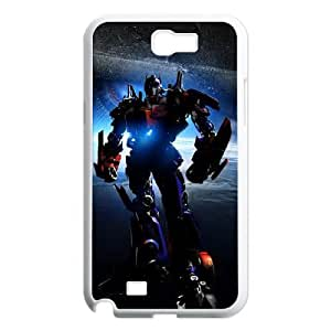 QSWHXN Diy Phone Case Transformers Pattern Hard Case For Samsung Galaxy Note 2 N7100
