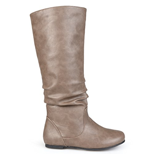 Joey Regular Boot Calf Brinley Women's Wide Taupe Riding Co amp; awFnvqxA