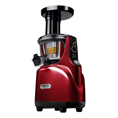 Kuvings BPA-Free Silent Juicer SC Series With Detachable Smart Cap, Burgundy Pearl