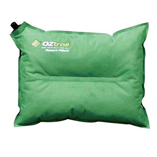 Oztrail - Almohada auto-inflable de viaje Resort ACS-TPR-B Resort Self Inflating Pillow, autohinchable, auto-inflado