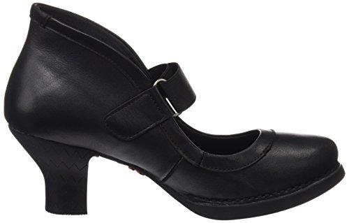 Art Vrouwen Harlem Hoog Slippers Zwart (ster Black 1062)