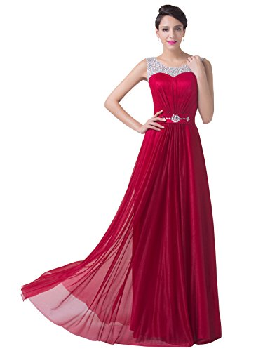 Grace Karin® Women Formal Evening Dresses Open Back with Sequined Beading CL6272 (2)