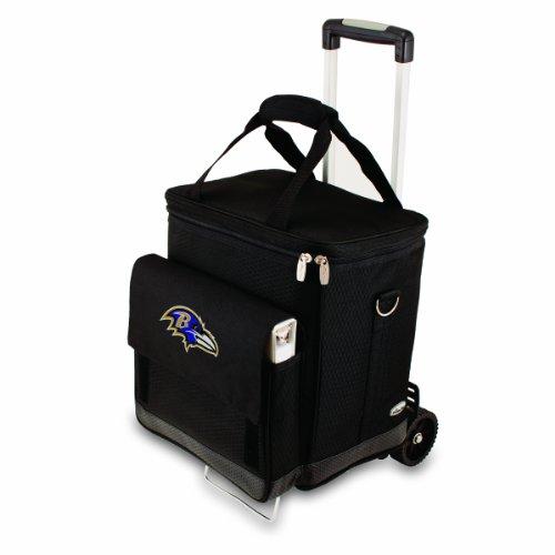 Picnic Time Baltimore Ravens Cellar w/Trolley