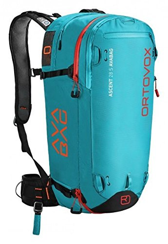 Ortovox Ascent 28 S Avabag Backpack, Aqua, 28 Liter, 4610700002