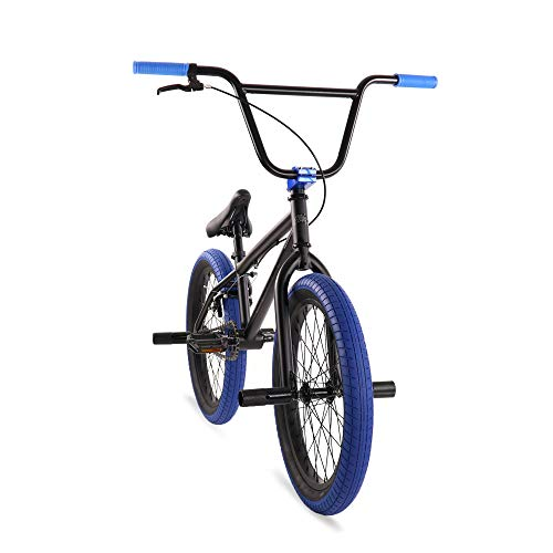 "(Elite 20"" BMX Bicycle The Stealth Freestyle Bike New 2019 (Black Blue))"