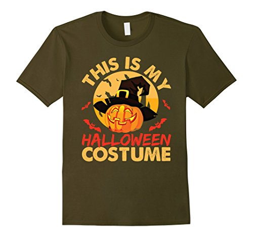 Mens This Is My Halloween Costume Shirt - Funny Costume T-Shirt Small (Comedy Halloween Costume Ideas)