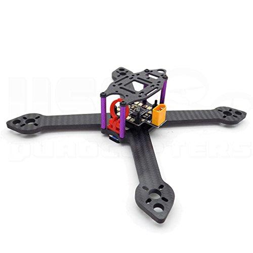 210mm Carbon Fiber FPV Racing Drone 5mm Unibody Fr...