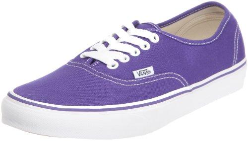 Amazon.com | Vans Mens Authentic, Purple Iris/True White, Men's ...