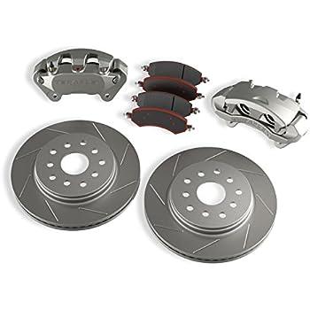 For Jeep Wrangler JK JKU 2007-2017 Front Rear Brake Pads And Rotors Kit DAC