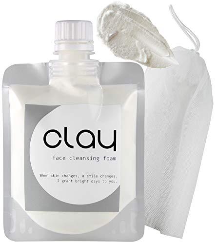 STAR'S 클레이 오가닉 모공세안 (거품망 포함) 40종류의 식물 엑기스 16종류의 미용 성분 9개의 무첨가130g (Clay)
