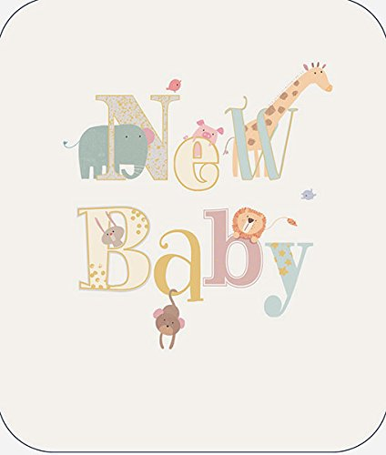 Ukg- 799672 from The Camden Graphics Range New Baby Boy Embossed with A Foiled Finish Greeting Card