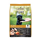 CANIDAE PURE PUPPY Real Chicken, Lentil & Whole Egg Recipe Dry Dog Food 4 lbs