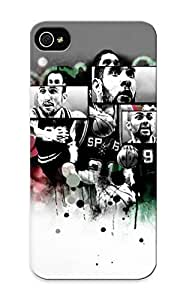 Blackducks HtjFDh-758-stLUG Case Cover Skin For Iphone 5/5s (san Antonio Spurs Basketball Nba (39) )/ Nice Case With Appearance by icecream design