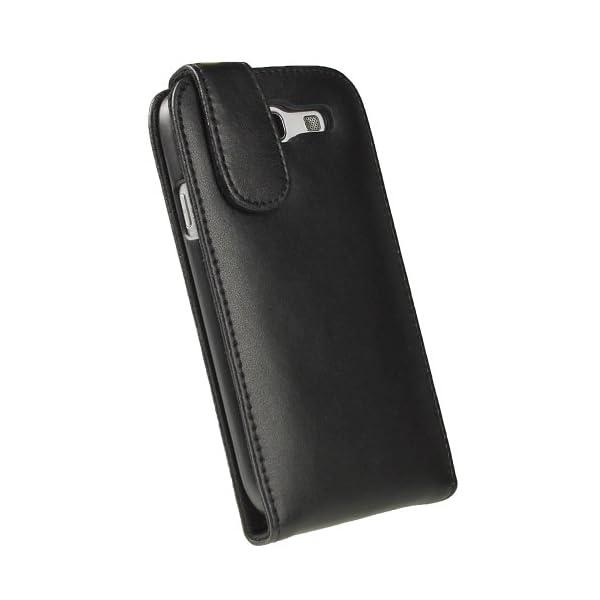 igadgitz Negro Funda de Piel Carcasa Case Cover para Samsung Galaxy S3 III i9300 Android Smartphone + Protector de… 6