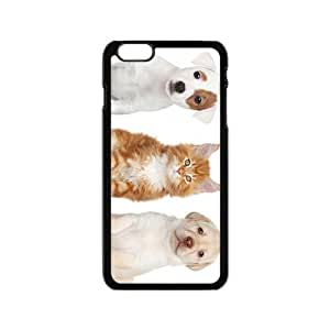 Dogs And Cat Hight Quality Plastic Case for Iphone 6